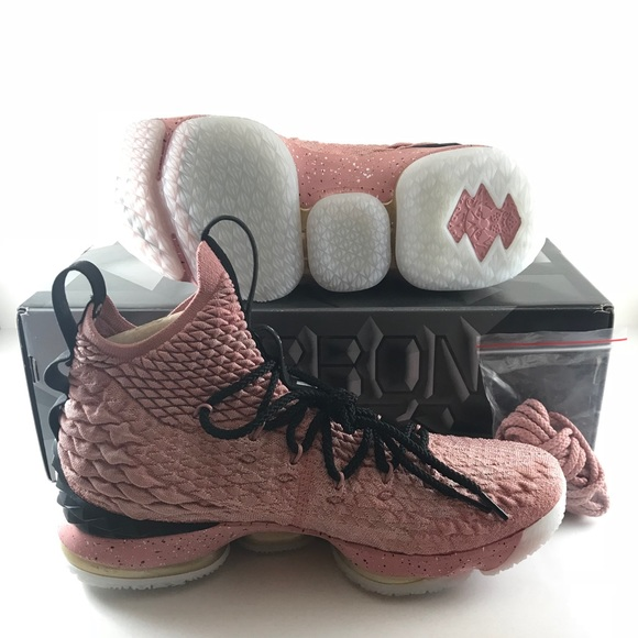 6560de3397f Nike Limited Lebron XV 15 Hollywood Pink Gold US